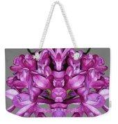 Lilac Twins Weekender Tote Bag