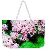 Lilacs After The Rain Weekender Tote Bag