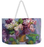 Lilacs And Pears Weekender Tote Bag