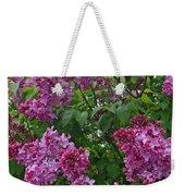 Lilacs At Hulda Klager Lilac Garden Weekender Tote Bag