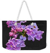 Lilacs - Perfumed Dreams Weekender Tote Bag