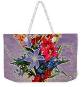 Lilies And Orchids Topaz II Weekender Tote Bag