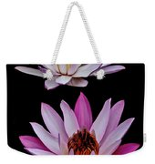 Lilies In Black Weekender Tote Bag