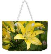 Lilies In The Sun Weekender Tote Bag