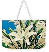 Lilies In White Weekender Tote Bag