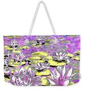 Lilies Of The Lake Weekender Tote Bag