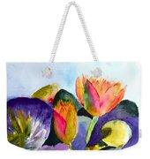 Lilies Of The Water Weekender Tote Bag