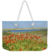 Lillies By The Lake Weekender Tote Bag