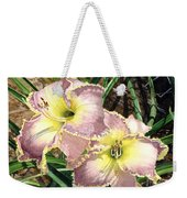 Lillies Clothed In Glory Weekender Tote Bag