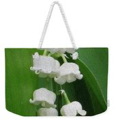 Lillies Of The Valley Cascade Weekender Tote Bag