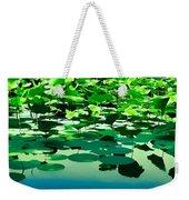 Lilly Pads Of Reelfoot Lake Weekender Tote Bag