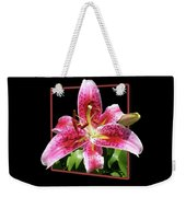Lilly Ready To Serve Weekender Tote Bag