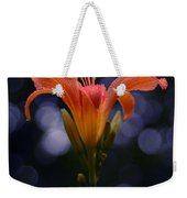 Lily After A Shower Weekender Tote Bag