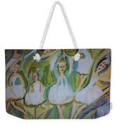 Lily Allegro Ballet Weekender Tote Bag