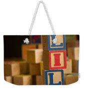 Lily - Alphabet Blocks Weekender Tote Bag