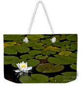 Lily And Pads Weekender Tote Bag