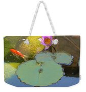 Lily And The Gold Fish Weekender Tote Bag