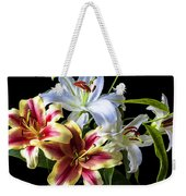 Lily Bouquet Weekender Tote Bag