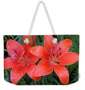 Lily Duet After The Rain Weekender Tote Bag