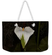 Lily In The Dark Weekender Tote Bag