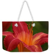 Lily In The Morning Weekender Tote Bag
