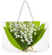 Lily-of-the-valley Bouquet Weekender Tote Bag