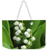 Lily-of-the-valley  Weekender Tote Bag