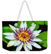 Lily On The Water Weekender Tote Bag