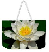 Lily Pad Blossom Weekender Tote Bag