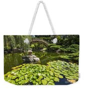Lily Pad Garden - Japanese Garden At The Huntington Library. Weekender Tote Bag