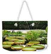 Lily Pad Garden Weekender Tote Bag