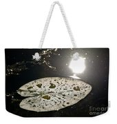 Lily Pad In The Sun Weekender Tote Bag