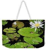 Lily Pads And Lotus Flower Weekender Tote Bag