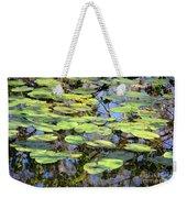 Lily Pads In The Swamp Weekender Tote Bag