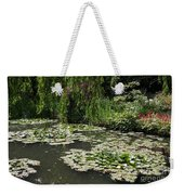 Lily Pads Monets Garden Weekender Tote Bag