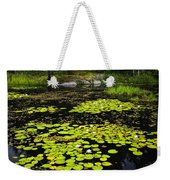 Lily Pads On Lake Weekender Tote Bag