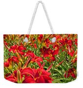 Lily Patch Weekender Tote Bag
