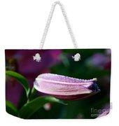 Lily Pearls Weekender Tote Bag