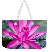 Lily Petals Weekender Tote Bag by Carolyn Marshall