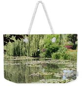 Lily Pond - Monets Garden - France Weekender Tote Bag