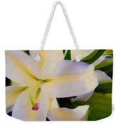 Lily Portrait Weekender Tote Bag