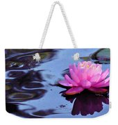 Lily Reflection Weekender Tote Bag