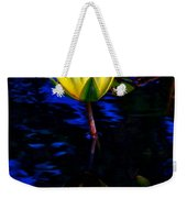Lily Reflection Weekender Tote Bag by Nick Zelinsky