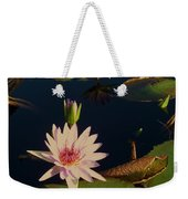 Lily White Monet Weekender Tote Bag