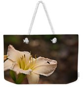 Lily With Fly Weekender Tote Bag