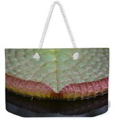 Lilypad Abstract Weekender Tote Bag