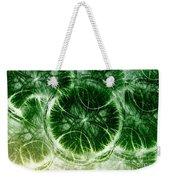 Lilypad - Fractal Weekender Tote Bag