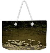 Lilypads At The Dock Weekender Tote Bag