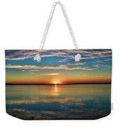 Lima Ohio Sunset Weekender Tote Bag