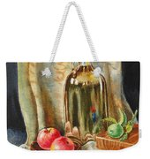 Lime And Apples Still Life Weekender Tote Bag